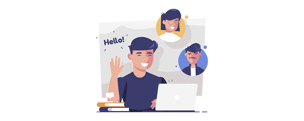 چگونه یک تماس ویدئویی را به زبان انگلیسی آغاز کرده و پایان دهیم؟