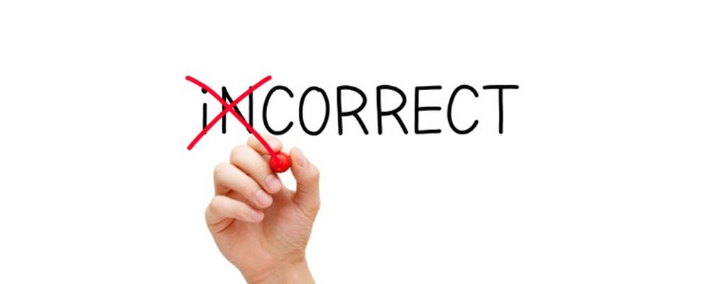 13 اشتباه رایج در زبان انگلیسی