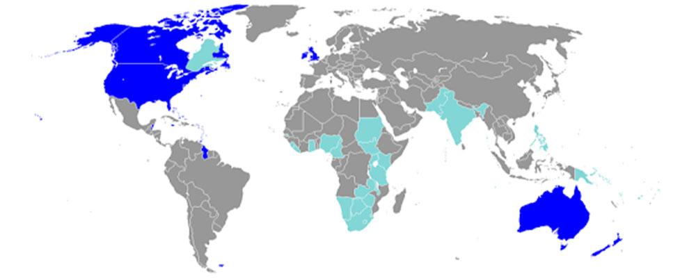 کشورهای انگلیسیزبان را بشناسیم