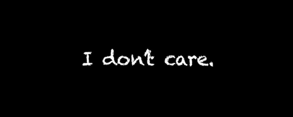 تفاوت میان I Don't Mind و I Don't Care
