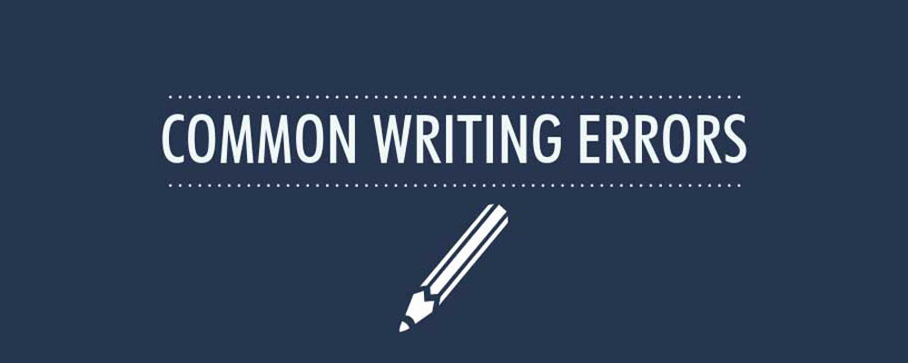 اشتباهات نگارشی رایج در زبان انگلیسی