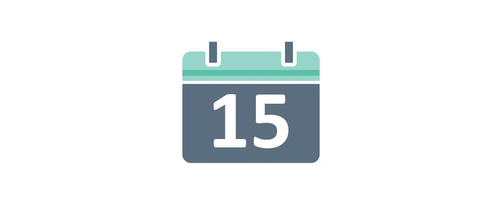 اعلام هفته، ماه و تاریخ به زبان انگلیسی
